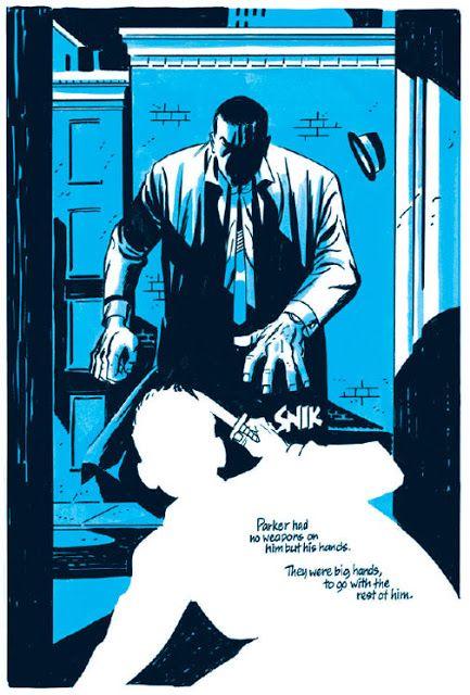 RIP Darwyn Cooke. Artist of the new Richard Stark's Parker Graphic Novels.