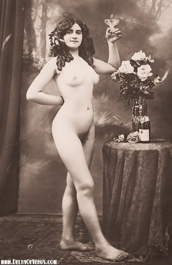 Vintage nudes from the 1800s
