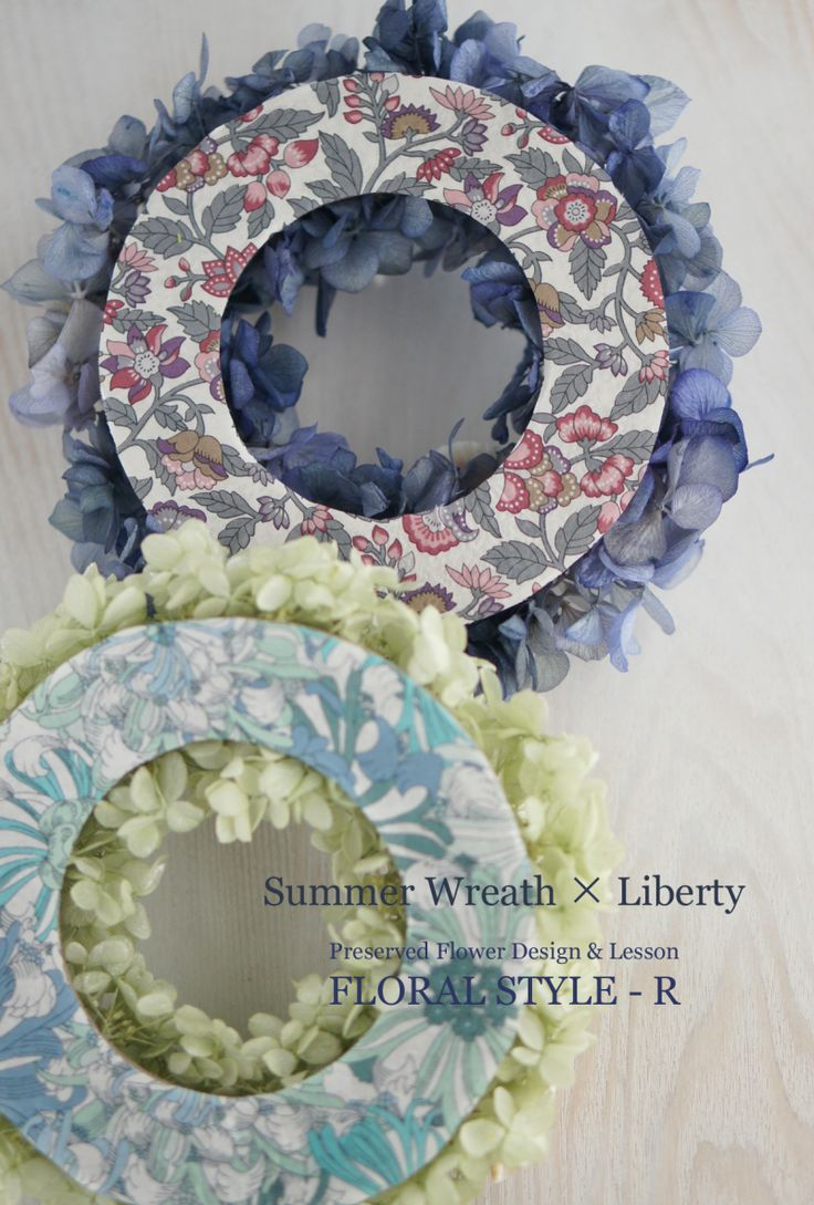 < Summer Wreath with Liberty >