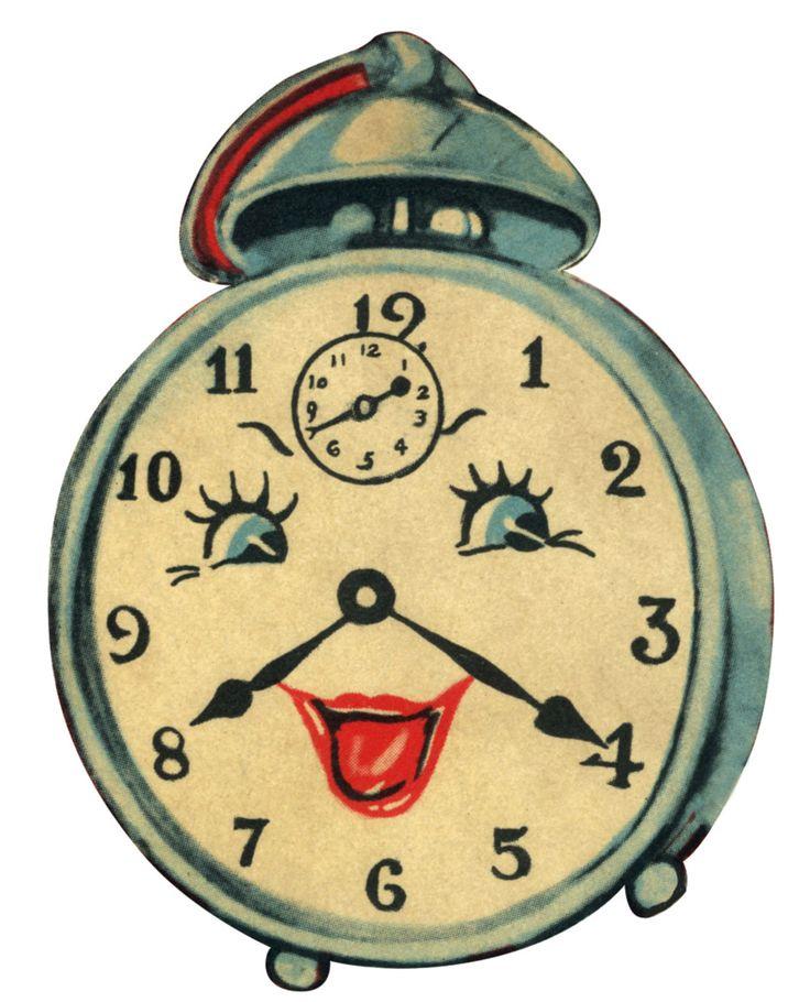 Картинки смешных часов, открытка