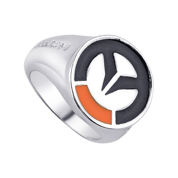 Cosplay male Jewelry Friendship Gift  Overwatch Ring Hot Game OW Silver Men Women Rings