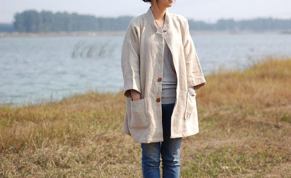 Women Jacket Coat Women Linen Coat Women Linen by fashiondress6, $110.00 http://v.downjackettoparea.com Cannadagoose JACKETS is on clearance sale, the world lowest price. --The best Christmas gift $169