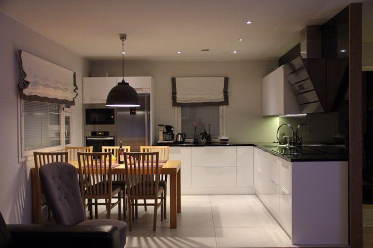 Modern kitchen with open plan