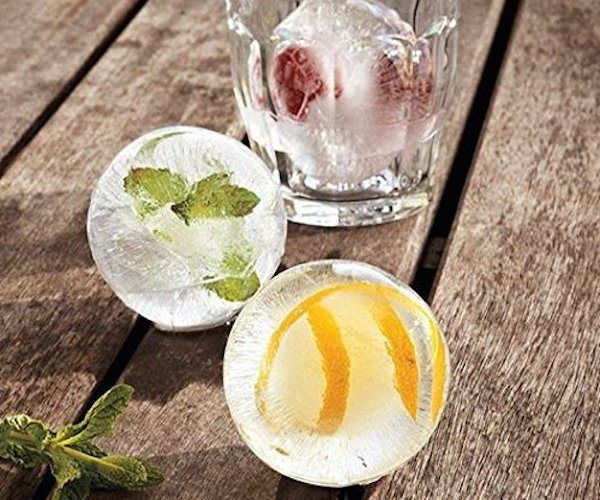 Round #IceBall Maker Mold http://thegadgetflow.com/portfolio/ice-ball-maker-mold-makes-round-ice-ball-spheres/?utm_content=buffer04452&utm_medium=pinterest&utm_source=pinterest.com&utm_campaign=buffer Replace your old-school #icetrays with something more fun!