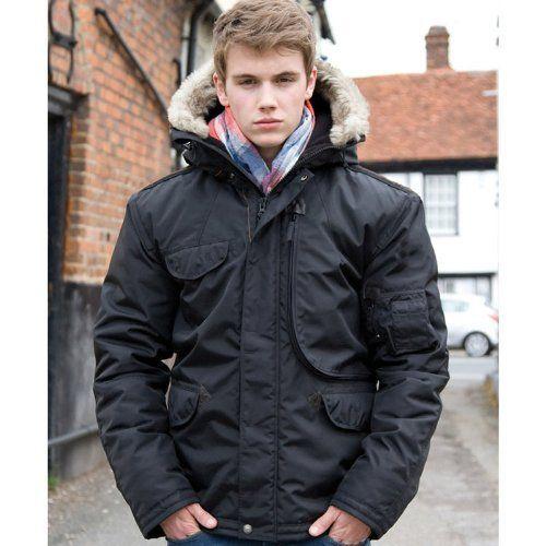 Urban Outdoor Wear Mens Waterproof Ultimate Cyclone Parka Jacket
