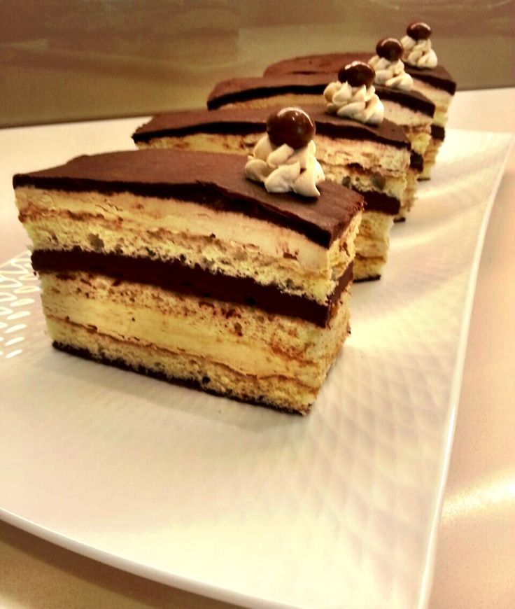 Opera torte / French layered cake / see thameen