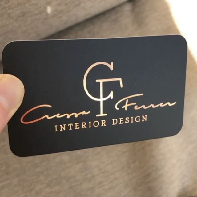 51 best Copper Foil Business Cards images on Pinterest