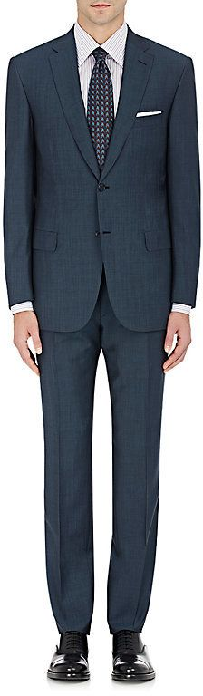 Brioni Men's Brunico Wool-Mohair Two-Button Suit