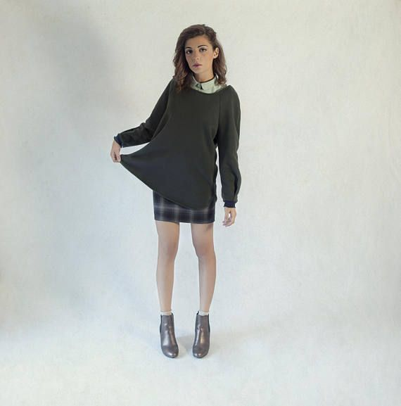 Oversized sweater / college sweatshirts for women / oversized