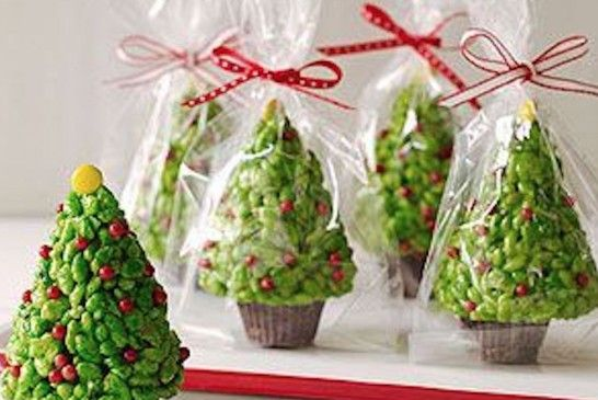 Rice Krispie Christmas Trees Tutorial