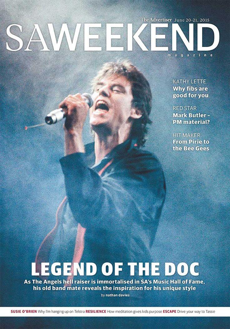 SA Weekend Magazine, June, 2015.  #Adelaide #SA #cover #SouthAustralia #magazine #cover #design #music