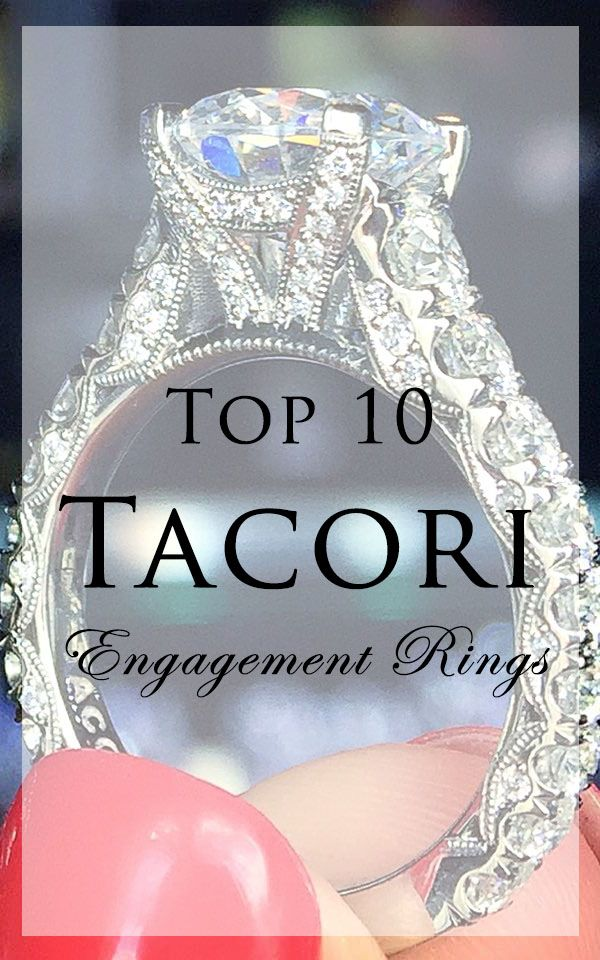 In love with Tacori engagement rings? There's no wrong choice, but these are the most popular!