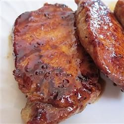 Honey and Brown Sugar Pork Chops Recipe