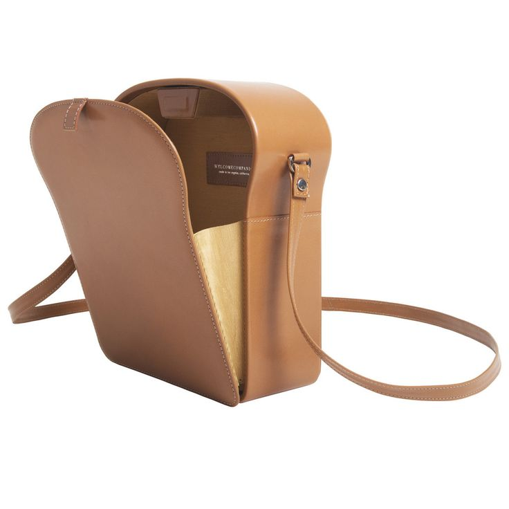 Welcome Companions toast shoulder bag