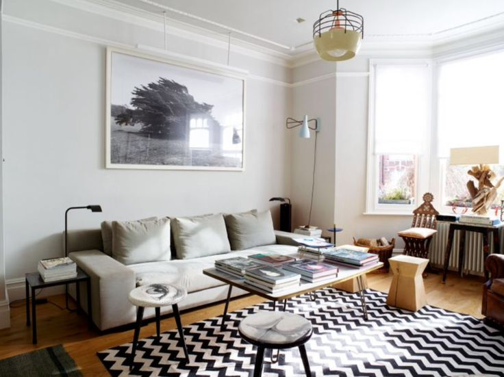 """This living room is from our feature """"Dazzling Dresscode"""""""