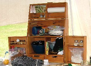 Decorating A Pop-Up Camper | Camping Kitchen on Camp Kitchen Boxes Get Domain Pictures ...