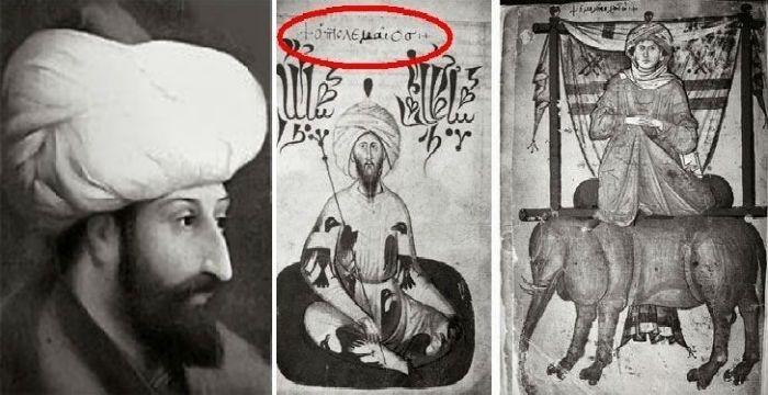 Η ΜΟΝΑΞΙΑ ΤΗΣ ΑΛΗΘΕΙΑΣ: Ενα πορτραίτο του Μωάμεθ με Ελληνικές λέξεις σκανδ...