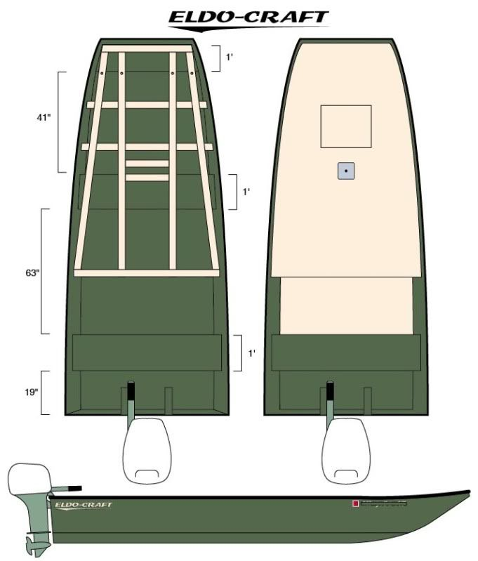 16' John Boat Floor Installation Page: 1 - iboats Boating Forums   319004