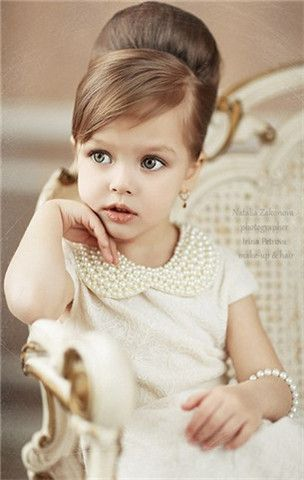 I love when little girls look like little ladies....just not the pageant kind