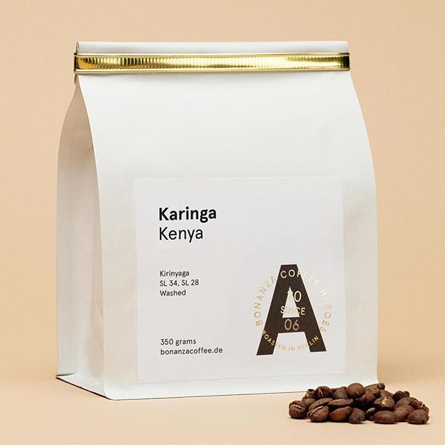 ⚡️Kenia Karinga! Now available through our shop & online store with worldwide shipping www@bonanzacoffee.de ⚡️