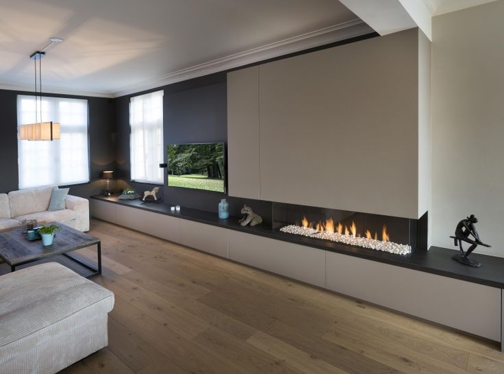 526 best linear fireplaces linear contemporary images on. Black Bedroom Furniture Sets. Home Design Ideas