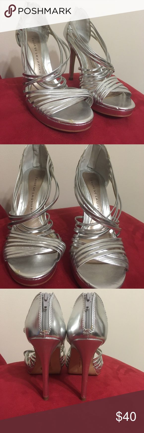 Chinese laundry silver heels Chinese laundry silver heels Chinese Laundry Shoes Heels