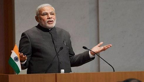 Peace, non-violence is ingrained in our DNA, says Narendra Modi