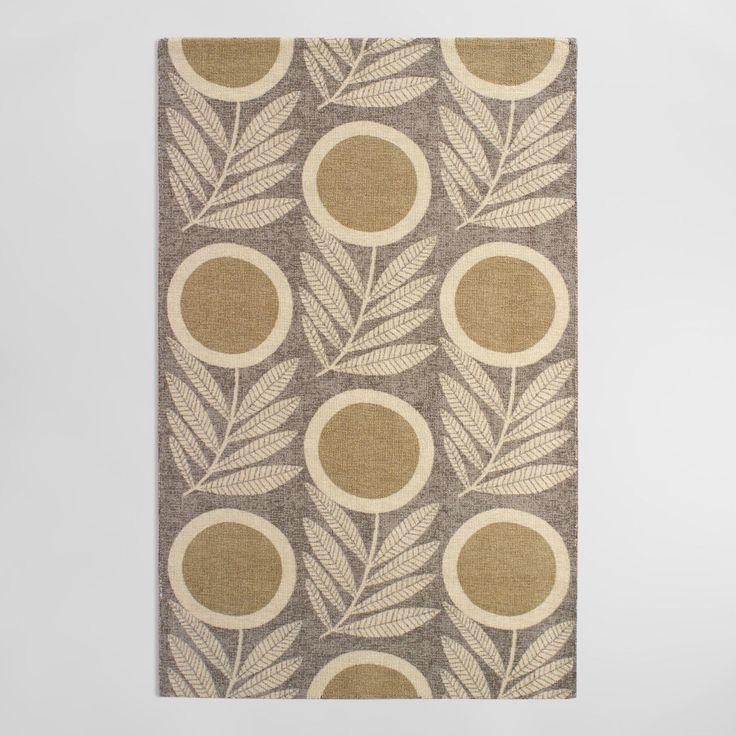 5ftx8ft Brown Tufted Nylon Letta Area Rug