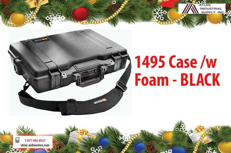 Do you need some extra protection for your laptop? check out this PELICAN 1495 BLACK CASE!! http://store.aishouston.com/