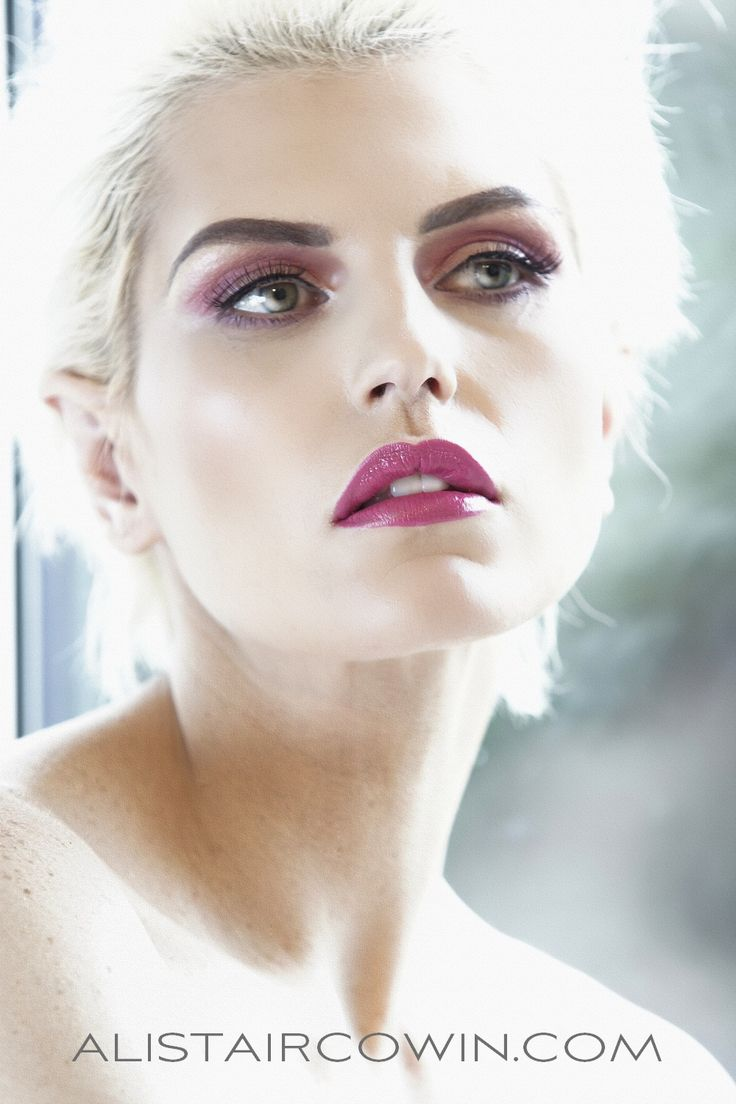 Photographed for Alistair Cowin's Beauty Books and the model's Portfolio