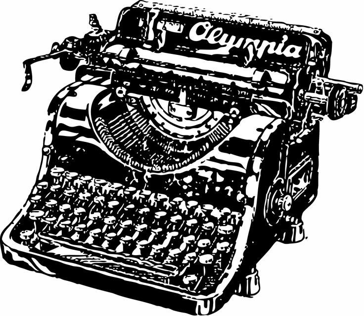 Type Writer free printable