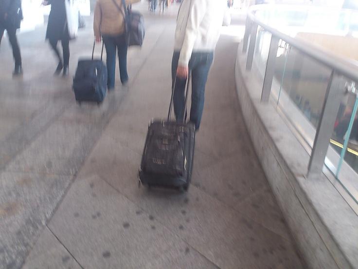 In viaggio con il trolley Nannini