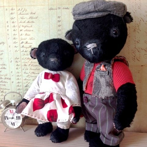 Teddy bear - http://arthandmade.net/catalog/mishkiteddi Teddy bear James. Author - Svetlana Mikhailenko. Teddy, bear, teddy bear, toy, collectible toy, gift, original gift, teddy artist, handmade, craft, тедди, мишка, мишка тедди, игрушка, коллекционная игрушка, подарок, оригинальный подарок, художник, ручная работа