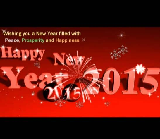 22 best happy new year 2015 ecards greetings images on pinterest happy new year 2015 greeting card m4hsunfo