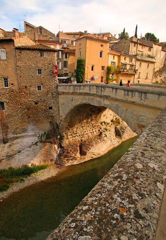 Vaison-la-romaine, Vaucluse, Provence, France.