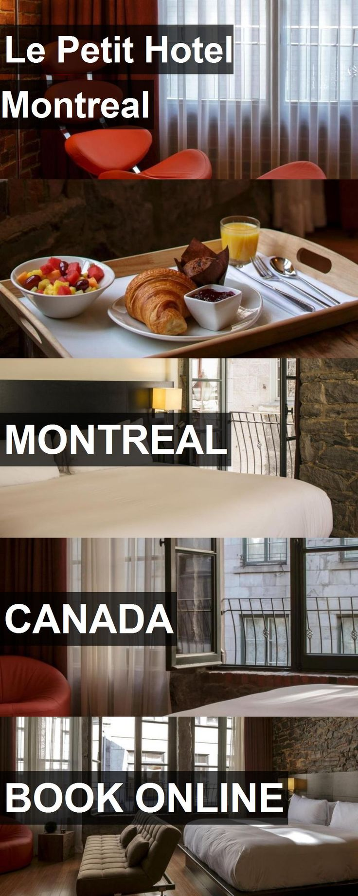 Le Petit Hotel Montreal in Montreal, Canada. For more information, photos, reviews and best prices please follow the link. #Canada #Montreal #travel #vacation #hotel