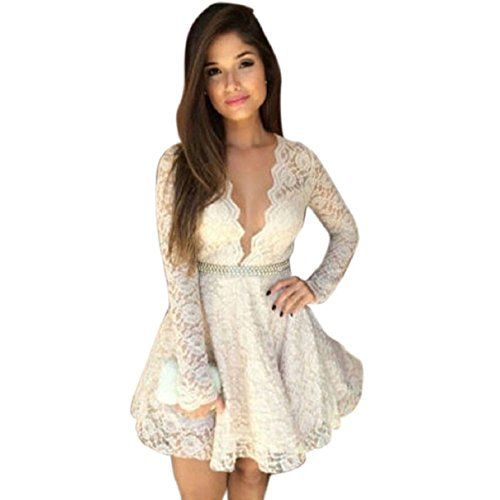 Aokdis Sexy Womens Long Sleeve Prom Ball Cocktail Party Dress Formal Gown (S) Aokdis(TM) http://www.amazon.com/dp/B00O3QI284/ref=cm_sw_r_pi_dp_jYlFub0EZTWBE