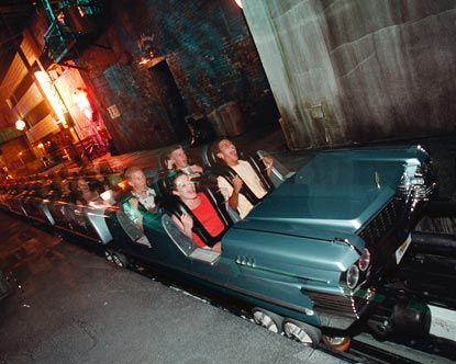 Hollywood Studios Rides Rockin Roller Coaster