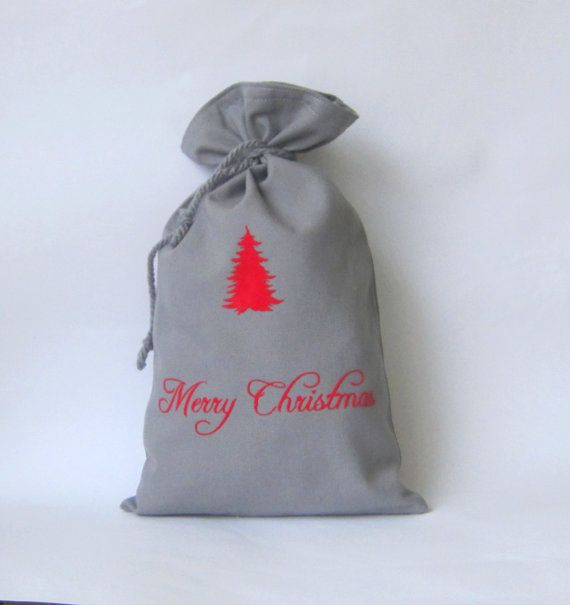 10 x 15 Christmas SackSanta sack Personalized by Amaiahandmade