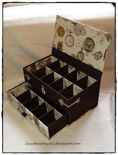 Caja colección relojes