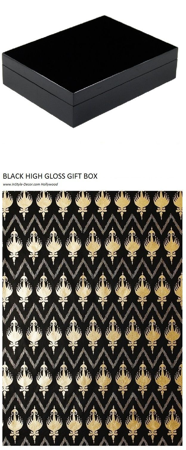 Black Gift Box | Black Gift Boxes | Black Gift Box With Lid | Black Wood Box | Black Gift Box Online | Desk Box | Desk Boxes | Gift Box | Gift Boxes | Stationery Box | Stationery Boxes | Black Gift Box Ideas | View at www.gift-boxes.co Hollywood Over 10 Years Worldwide Shipping Experience
