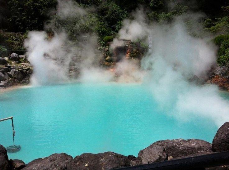 Anybody traveled to Beppu, Oita? Too beautiful…#…