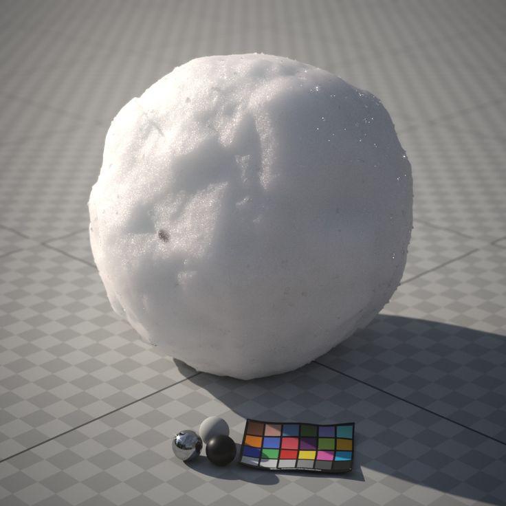 Snowball shader [WIP], Zeno Pelgrims on ArtStation at https://www.artstation.com/artwork/A4EXm