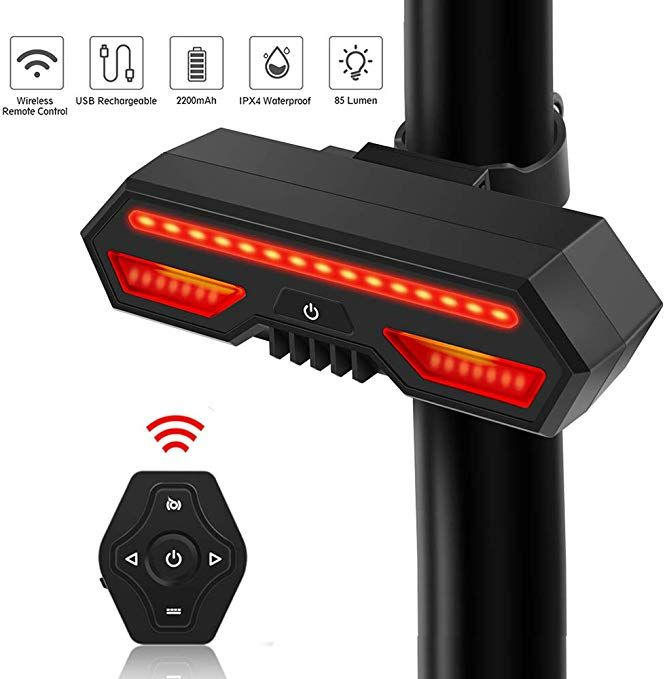 Cs Force Bike Tail Light Usb Rechargeable Led Bicycle Rear Light