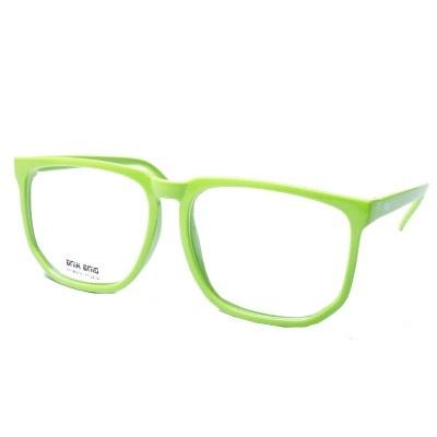 $7 Fausse Lunette Geek Verte