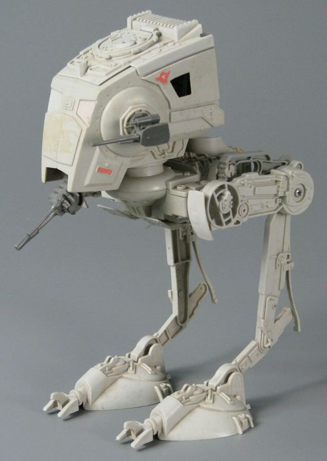 110.9185: Star Wars: AT-ST Vehicle | vehicle | Action Figures and Character Toys | Toys | Online Collections | The Strong