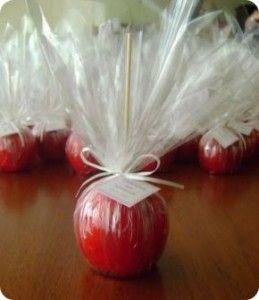 Manzanas acarameladas recetas