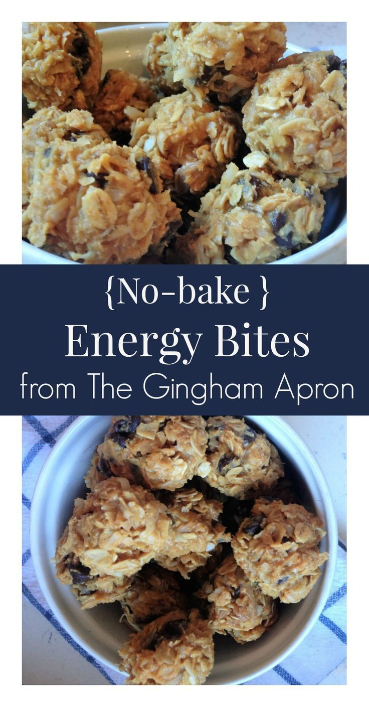 No bake energy bites- a quick, healthy, and delicious snack.