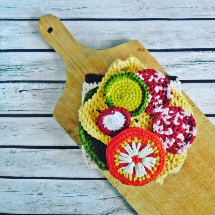 Co dziś na śniadanie? #kanapka #sandwich #breakfast #szydełko #crochet #crochettoy #crochetfood #amigurumi #GawraStefana
