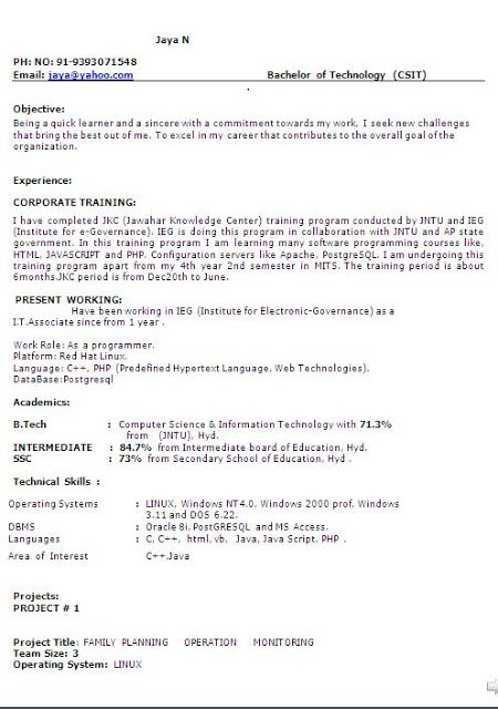 Resumes For School Leavers Cv Examples For School Leavers Resume